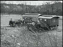 """<p>This film excerpt from Groß-Stadt Zigeuner (1932) by filmmaker László Moholy-Nagy shows a Romani (Gypsy) campsite near Berlin, Germany, in the last year of the <a href=""""/narrative/35/en"""">Weimar Republic</a>. Although <a href=""""/narrative/6716/en"""">Roma (Gypsies)</a> had faced persecution in Germany even before the <a href=""""/narrative/65/en"""">Nazi rise to power</a> in 1933, the Nazis regarded them as racial enemies to be identified and killed. Tens of thousands of Roma were killed by the <a href=""""/narrative/2290/en"""">Einsatzgruppen</a> in eastern Europe or were deported to <a href=""""/narrative/2746/en"""">killing centers</a> in occupied Poland.</p>"""