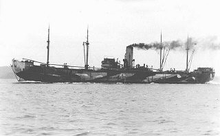 "<p>The <em>Donau</em>, one of the largest ships used to deport Jews from <a href=""/narrative/6313/en"">Norway</a> to Germany. From Germany, hundreds of Norwegian Jews were deported to <a href=""/narrative/3673/en"">Auschwitz</a>. Norway, 1943.</p>"