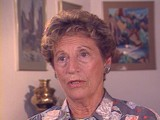 <p>Henny was born into an upper-middle-class Jewish family in Kovno, Lithuania. She and her brother attended private schools. In June 1940 the Soviets occupied Lithuania, but little seemed to change until the German invasion in June 1941. The Germans sealed off a ghetto in Kovno in August 1941. Henny and her family were forced to move into the ghetto. Henny married in the ghetto in November 1943; her dowry was a pound of sugar. She survived several roundups during which some of her friends and family were deported. Henny was herself deported to the Stutthof concentration camp in 1944, when the Germans liquidated the Kovno ghetto. She was placed in a forced-labor group. The Germans forced Henny and other prisoners on a death march as Soviet troops advanced. After Soviet troops liberated Henny in 1945, she eventually reunited with her husband and moved to the United States.</p>