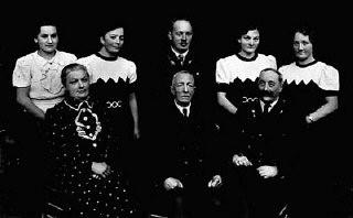 A portrait of the Greinegger family