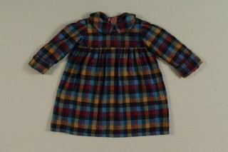 <p>A dress worn by hidden child in Baarn, the Netherlands. The dress was donated to the United States Holocaust Memorial Museum in 2002 by Vera Waisvisz-Reiss.</p>