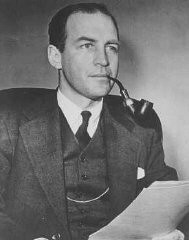 <p>Portrait of John Pehle, Executive Director of the War Refugee Board. United States, 1940s.</p>