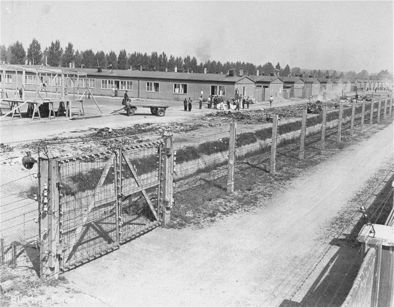"""<h2>Establishment of the Dachau Camp</h2> <p>The Dachau concentration camp was established in March 1933. It was the first regular concentration camp established by the National Socialist (Nazi) government. Heinrich Himmler, as police president of Munich, officially described the camp as """"the first concentration camp for political prisoners.""""</p> <p>It was located on the grounds of an abandoned munitions factory near the northeastern part of the town of Dachau, about 10 miles northwest of Munich in southern Germany.</p> <p><img class=""""image-embed embedded-narrative"""" src=""""/asset/430/thumb"""" alt=""""Dachau concentration camp"""" data-narrative-stem-id=""""2744"""" data-narrative-slug=""""dachau-concentration-camp"""" data-narrative-type-name=""""animated-map"""" data-narrative-type-id=""""33"""" data-narrative-langcode=""""en"""" /></p> <h2>Prisoners in the Camp</h2> <p>During the first year, the camp held about 4,800 prisoners. Initially the internees were primarily German Communists, Social Democrats, trade unionists, and other political opponents of the Nazi regime. Over time, other groups were also interned at Dachau, such as <a href=""""/narrative/5070/en"""">Jehovah's Witnesses</a>, <a href=""""/narrative/4500/en"""">Roma</a> (Gypsies), <a href=""""/narrative/4631/en"""">homosexuals</a>, as well as """"asocials"""" and repeat criminal offenders. During the early years relatively few Jews were interned in Dachau and then usually because they belonged to one of the above groups or had completed prison sentences after being convicted for violating the <a href=""""/narrative/11475/en"""">Nuremberg Laws</a> of 1935.</p> <p><img class=""""image-embed embedded-narrative"""" src=""""/narrative/11252/thumb"""" alt=""""Prisoners in the Dachau camp"""" data-narrative-stem-id=""""11252"""" data-narrative-slug=""""prisoners-in-the-dachau-camp"""" data-narrative-type-name=""""photo"""" data-narrative-type-id=""""43"""" data-narrative-langcode=""""en"""" /></p> <h2>Expansion of the Camp Complex</h2> <p>In early 1937, the SS, using prisoner labor, began construction of a large complex of bu"""