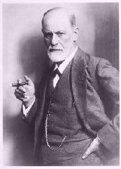 "<p>Portrait of <a href=""/narrative/11596/en"">Sigmund Freud</a>. Freud's writings were burned during the 1933 <a href=""/narrative/7631/en"">book burnings</a>. </p>"