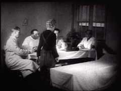 <p>Soviet troops entered the Auschwitz killing center in January 1945 and liberated thousands of sick and exhausted prisoners. This Soviet military footage was filmed shortly after the camp was liberated. It shows Soviet doctors examining victims of sterilization, poisonous injection, and skin graft experiments.</p>