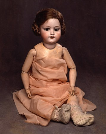 <p>Zofia Burowska (Chorowicz) donated this doll, which dates from the 1930s, to the United States Holocaust Memorial Museum. Zofia's parents gave her the doll before the war and she kept it with her in the Wolbrum and Krakow ghettos, Poland. The doll and some of her family's other belongings were left with non-Jewish friends for safekeeping. Zofia was deported to a forced-labor camp for Jews near Krakow, to the Skarzysko-Kamienna camp (also in Poland), and then to the Buchenwald concentration camp in Germany, where she was liberated. After the war, she returned to Krakow and retrieved her doll.</p>