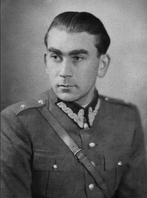 Norman Salstiz in Polish army uniform, 1944.