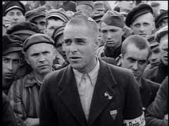 <p>Most Allied prisoners of war (POWs) were treated well compared to inmates of concentration camps. But, as former Dutch POW Captain Boullard explains here at Dachau concentration camp, some were subject to severe beatings and forced to work in harsh labor assignments.</p>