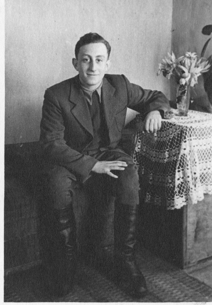 Charles Bedzow after the war.