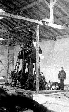 Construction of Oskar Schindler's armaments factory in Bruennlitz. [LCID: 03387]