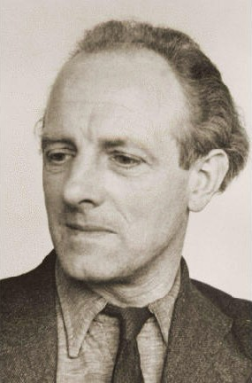 Joop Westerweel, schoolteacher executed by the Nazis for helping Jews escape from the Netherlands. [LCID: 77485a]