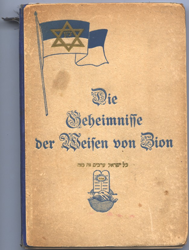 "<p>The <em>Secrets of the Wise Men of Zion</em> is the first documented version of the <a href=""/narrative/9302/en"">Protocols of the Elders of Zion</a> published outside of Russia. Published in Charlottenburg, Germany, 1920.</p>"