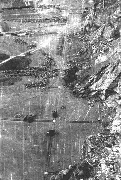 "<p>View of the quarry in a forced-labor camp established by the Hungarian government. Tokaj, <a href=""/narrative/6206"">Hungary</a>, 1940.</p>"