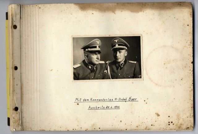 "<p class=""first-para""><a href=""/narrative/10876"">Karl Höcker's photograph album </a>includes both documentation of official visits and ceremonies at Auschwitz as well as more personal photographs depicting the many social activities that he and other members of the Auschwitz camp staff enjoyed.</p>"