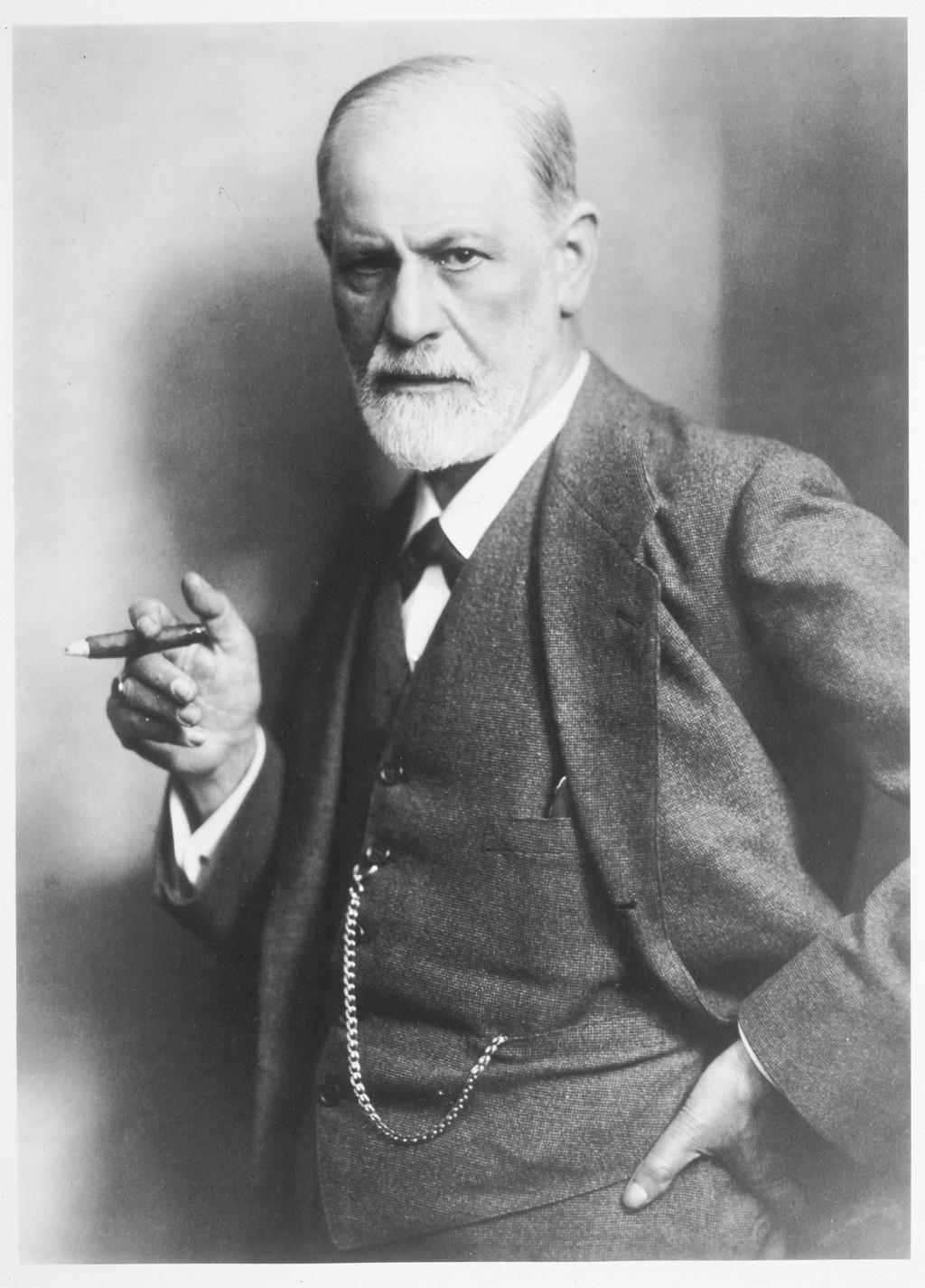 Portrait of Sigmund Freud. [LCID: 71523]