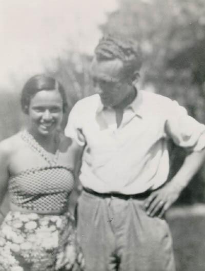 "<p><a href=""/narrative/10415"">Thomas Buergenthal</a>'s parents, Mundek and Gerda (b. 1912). Czechoslovakia, 1933 or 1934.</p>