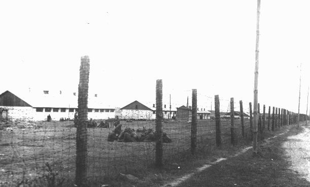 <p>A view of the Janowska forced-labor camp outside Lvov. Janowska, Poland, date uncertain.</p>