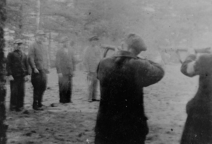 The execution of Polish civilians by the Selbstschutz and SS in the forest near Tuchola