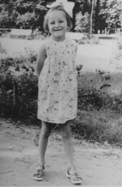 <p>Selma Schwarzwald while hiding under a false identity in Busko-Zdroj. Poland, 1943.</p>
