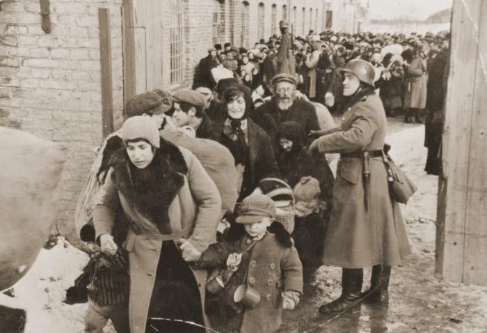 The deportation of Jews from Lublin, 1942