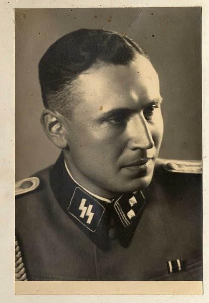 Obersturmführer Karl Höcker, June 21, 1944. [LCID: 34580]
