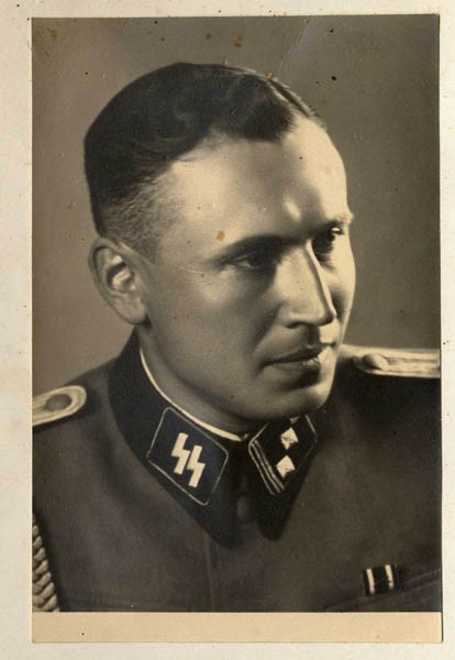 <p>Obersturmführer Karl Höcker, June 21, 1944.</p>