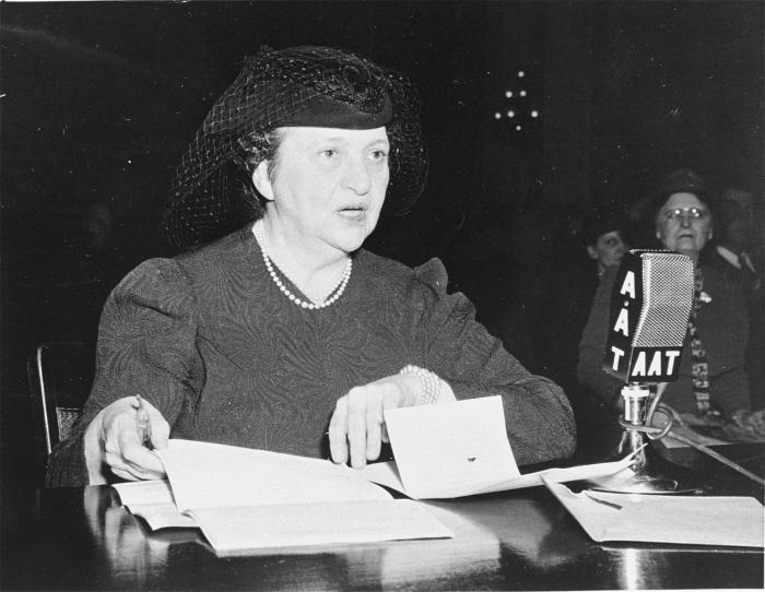 Secretary of Labor Frances Perkins