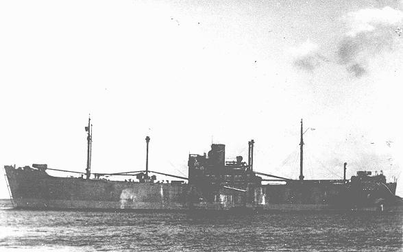 <p>The <em>Gotenland</em>, one of the ships used during the deportation of Jews from Norway to Germany. Norway, 1943.</p>