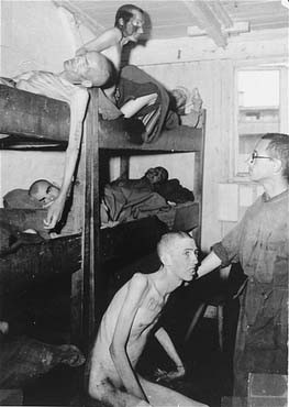 Barracks in the Mauthausen camp. Austria, May 1945, after liberation. [LCID: 74454]