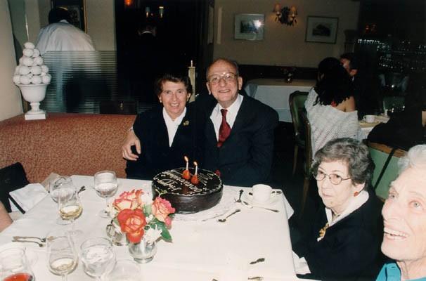 Regina and Victor celebrate their 50th wedding anniversary. [LCID: gelb39]