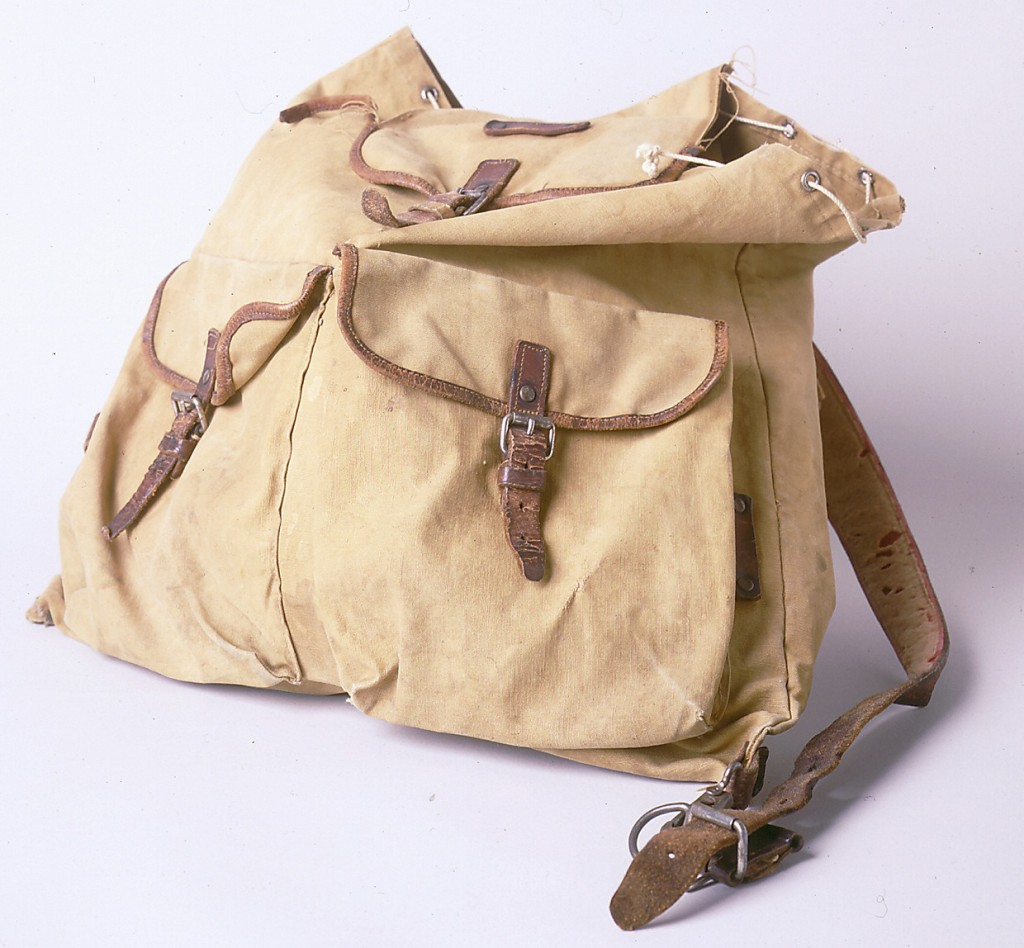 Backpack belonging to Ruth Berkowitz [LCID: 2000wpvw]