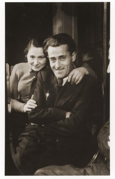 Prewar portrait of Pinchas and Roza Zygielbojm