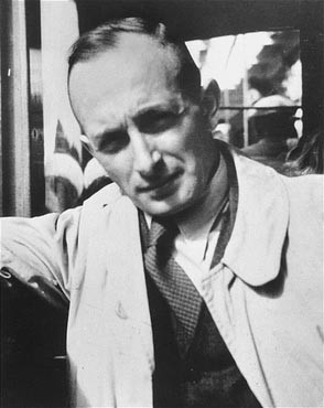 Adolf Eichmann, SS official in charge of deporting European Jewry. [LCID: 74907]