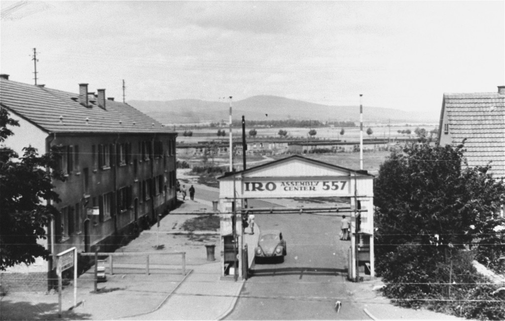 "<p>View of the Zeilsheim <a href=""/narrative/6365/en"">displaced persons camp</a>. Zeilsheim, Germany, 1947-1948.</p>
