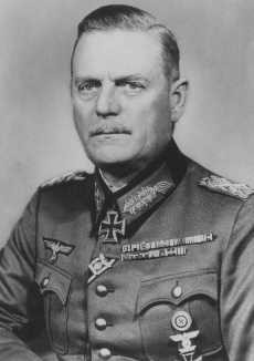 Wilhelm Keitel, head of the German Armed Forces High Command, who signed orders authorizing the shooting of Soviet prisoners of war. [LCID: 73802]