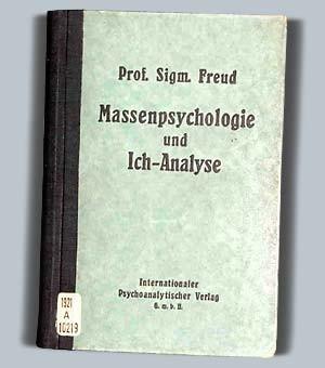 Sigmund Freud: Massenpsychologie und Ich-Analyse, cover [LCID: freudl]