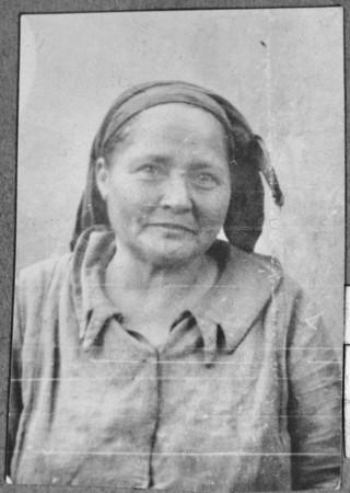 Portrait of Estreya Kolonomos, wife of Isak Kolonomos.