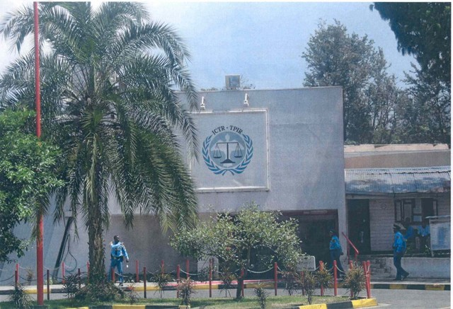 Offices of the International Criminal Tribunal for Rwanda (ICTR) in Arusha, Tanzania. [LCID: geno01]