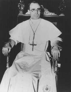 Pius XII, pope from 1939 to 1958. Vatican City, 1939. [LCID: 90992]
