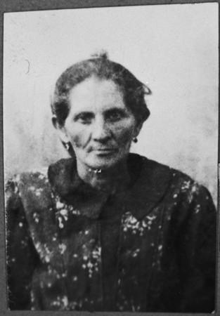 Portrait of Hana Ergas, wife of Isak Ergas. She lived at Zmayeva 20 in Bitola.