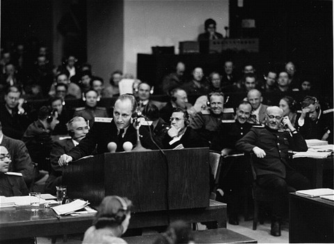 <p>The chief Soviet prosecutor, General R.A. Rudenko.</p>