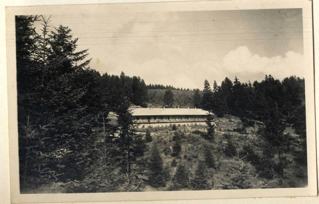 "<p>View of Solahütte, an SS retreat near <a href=""/narrative/3673"">Auschwitz</a>.</p>