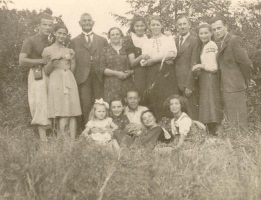 Photo taken a few weeks before World War II began.