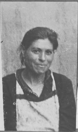 Portrait of Sara Israel, wife of Isak Israel. She lived at Krstitsa 10 in Bitola.