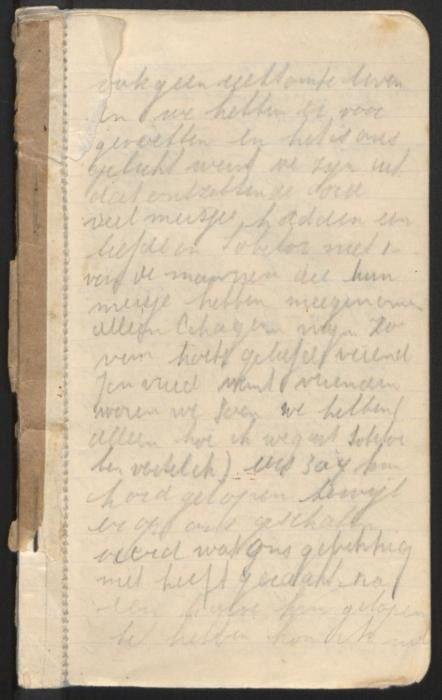 Selma Engel diary entry about escaping during the Sobibor uprising