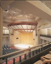 The Meyerhoff Theater in the United States Holocaust Memorial Museum. [LCID: meyer]