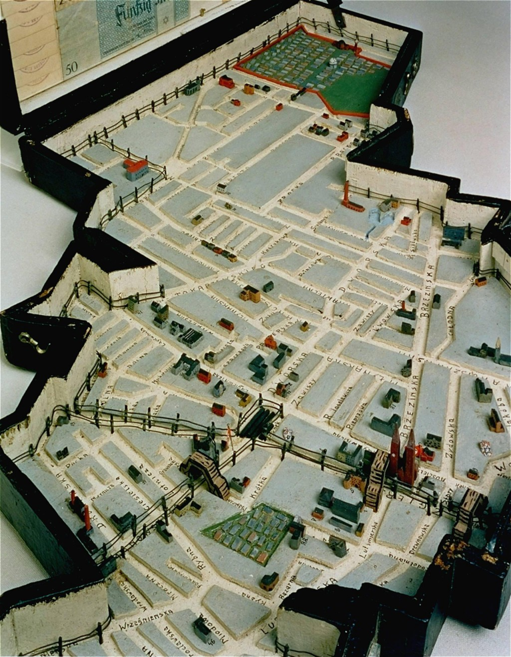Lodz ghetto model [LCID: 2004gcax]