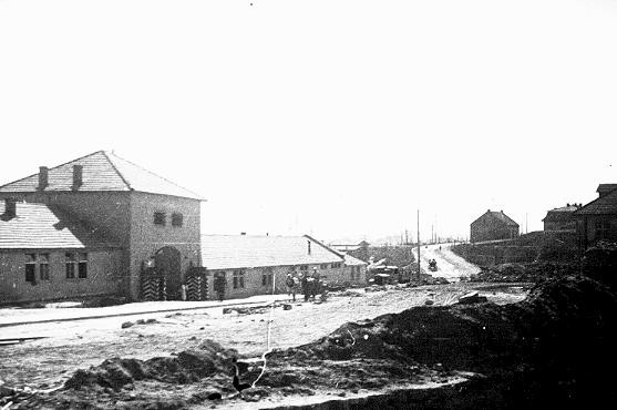 View of part of the Plaszow concentration camp. Plaszow, Poland, 1943-1944. [LCID: 03393]
