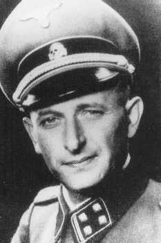Adolf Eichmann, SS official in charge of deporting European Jewry. [LCID: 71529]