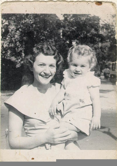 <p>Aron and Lisa's firstborn child, Howard. Chicago, Illinois, 1949.</p>